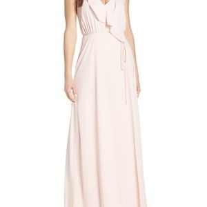 Bridesmaid dress from Nordstrom